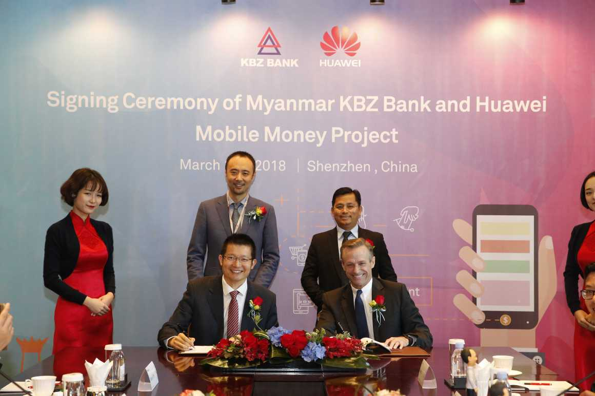 KBZ Bank announces partnership with Huawei to offer greater financial access to all