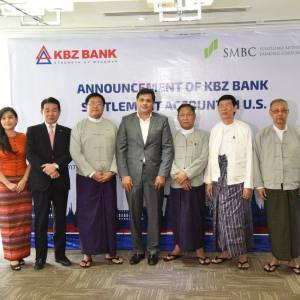 KBZ Bank opens settlement account in US