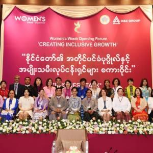 Women entrepreneurs' role in peace process