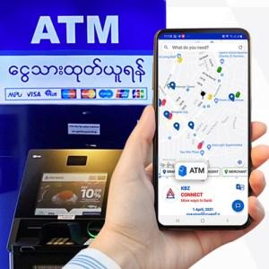 ငွေသားထုတ်ယူနိုင်သော တစ်နိုင်ငံလုံးရှိ ATM စာရင်း