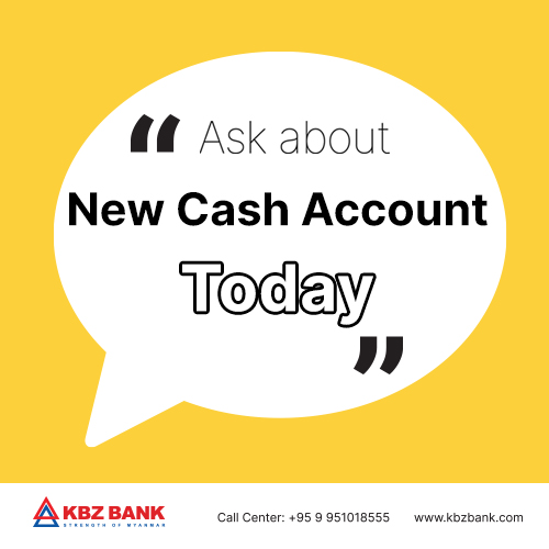 New Cash Account – Savings with Easy Cash Withdrawal